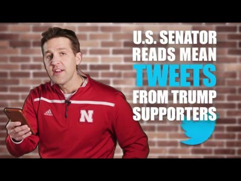U.S. Senator Ben Sasse Reads Mean Tweets From Trump Supporters