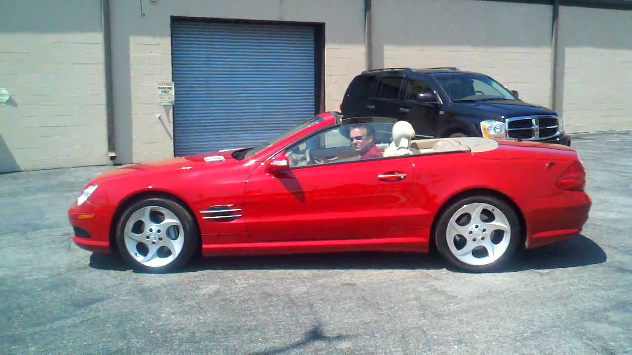 2005 Mercedes Benz Sl Cl Sl500 2dr Roadster 5 0l Convertible You
