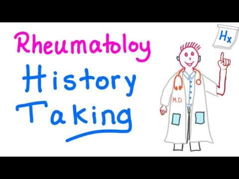 Rheumatology...Taking A Good History
