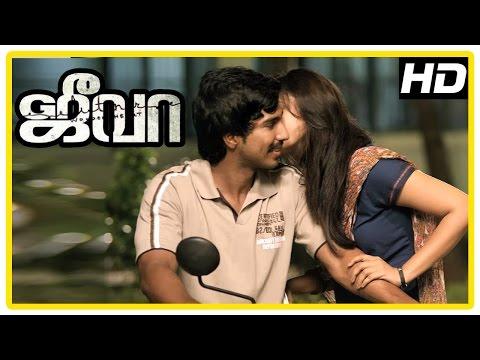 Jeeva Tamil movie | scenes | Sri Divya loves Vishnu | Lakshman and Vishnu selected for Renji