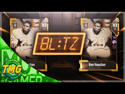 NEW LIMITED TIME 93 KEN HOUSTON COMING TONIGHT!!!| MADDEN 18 ULTIMATE TEAM BLITZ PROMO