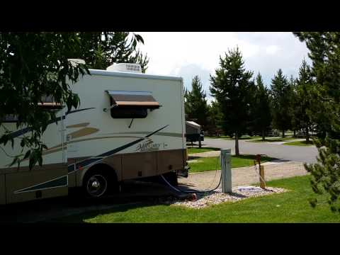 Grizzly rv park west yellowstone Montana
