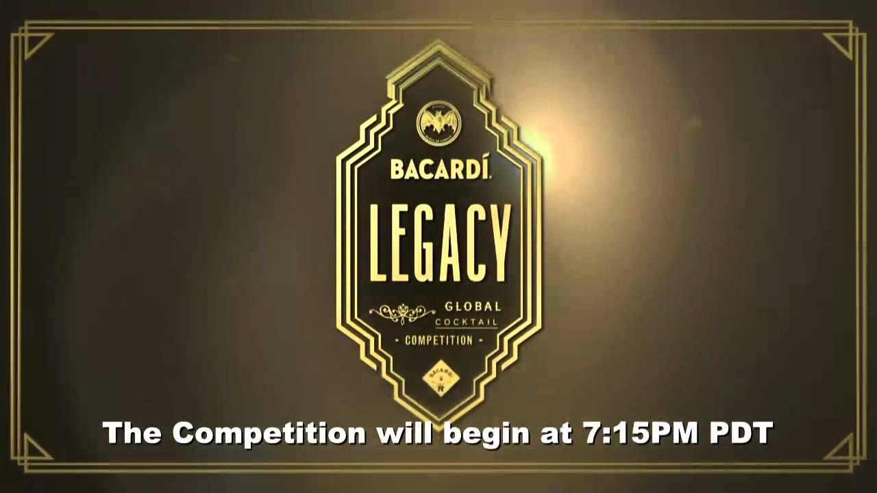 bacardi legacy winner logotype
