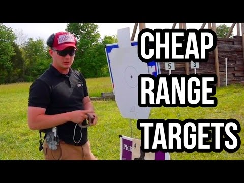Tips for Cheap Range Targets (Using Recycled Lawn Signs)