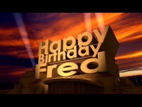 Birthday Cakes Fred