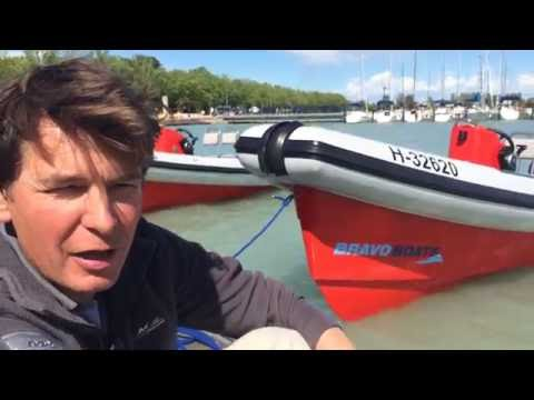 ISAF Trainer Tim Cross about Bravo 6.0 Coach Boat