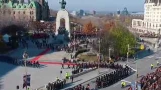 Ottawa Remembrance Day 2014