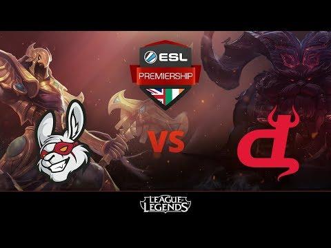 [League of Legends] Misfits Academy vs Diabolus Esports Group Stage Week 1 ESL Premiership 2018