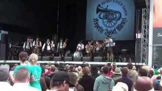 Kapelle Josef Menzl - Kufsteinlied - Woodstock der Blasmusik 2014