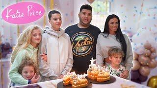 Katie Price: Junior's Birthday!  Emotional!