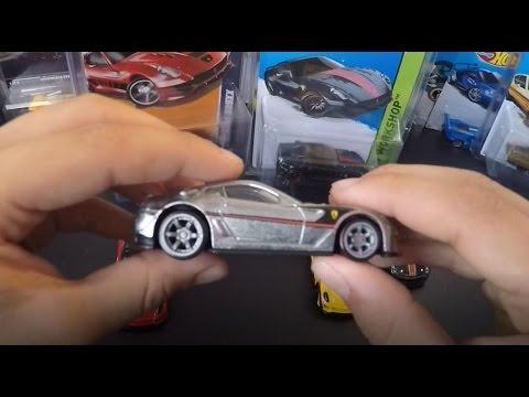 Hot Wheels Ferrari 599xx Super Treasure Hunts Speed Machines Zamac Speed Machine Youtube
