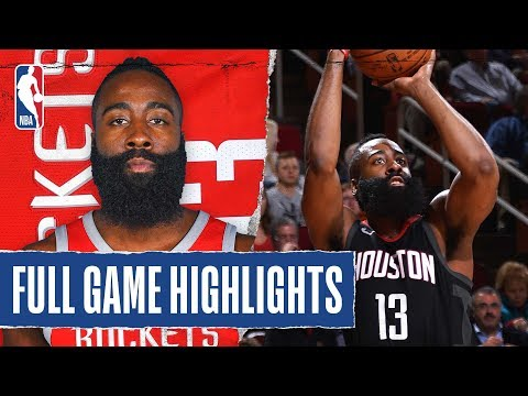 FULL GAME HIGHLIGHTS: James Harden Does It ALL with 60-PT Triple-Double!