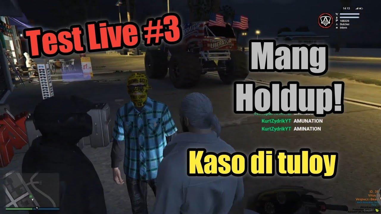 Grand Theft Auto V Live Stream #3 || Mang Holdup!? Kaso hindi natuloy 😔