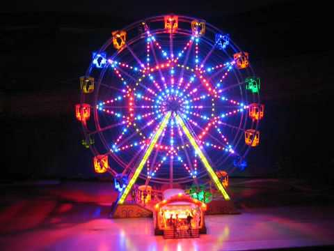 kirmes faller riesenrad mit smd beleuchtung youtube. Black Bedroom Furniture Sets. Home Design Ideas
