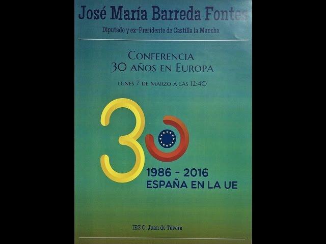 Conferencia de D. Jose Maria Barreda