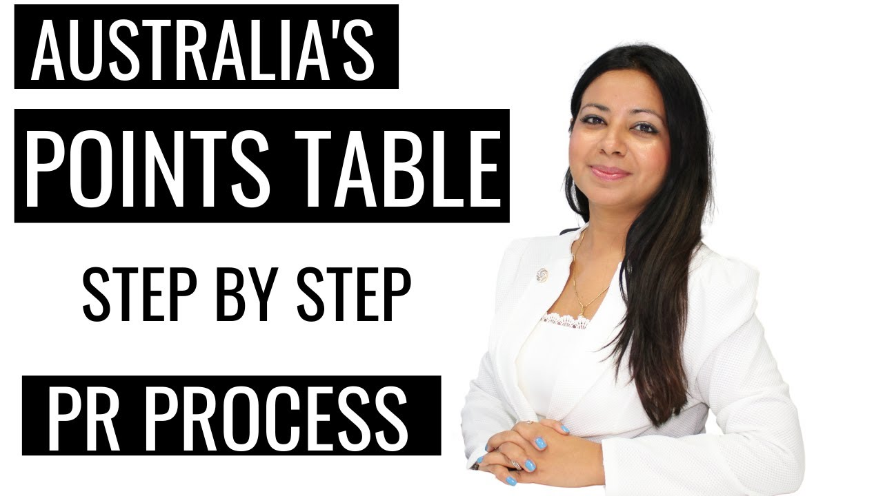 Australia's UPDATED POINTS TABLE explained- STEP BY STEP process for PR