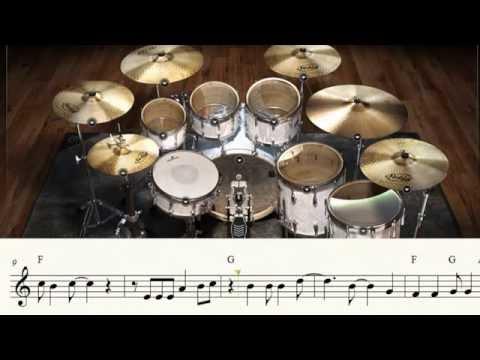 Kyoju Tokuso Jaspion - Abertura Fantástico Jaspion, MIDI Bateria e Partitura