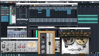 How to mix song by using Universal Universal Audio Apollo x 16 Heritage Edition.