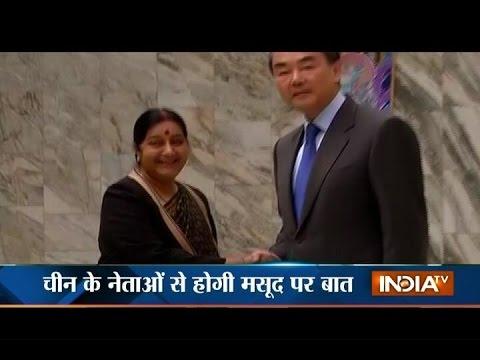 India vs China: Sushma Raises Masood Azhar Issue with Chinese Wang