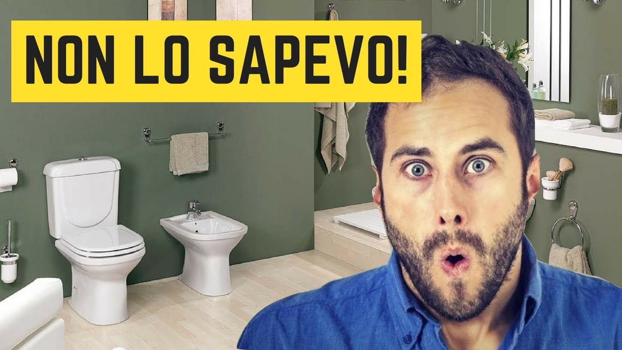 Tu sai come disporre i sanitari del bagno? - YouTube