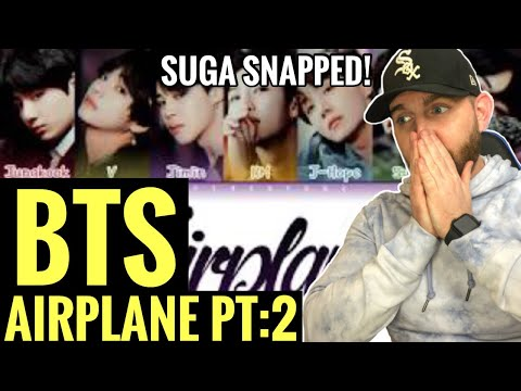 [American Ghostwriter] Reacts to:BTS (방탄소년단) - Airplane pt.2 (Color Coded Lyrics/Han/Rom/Eng)- WOW