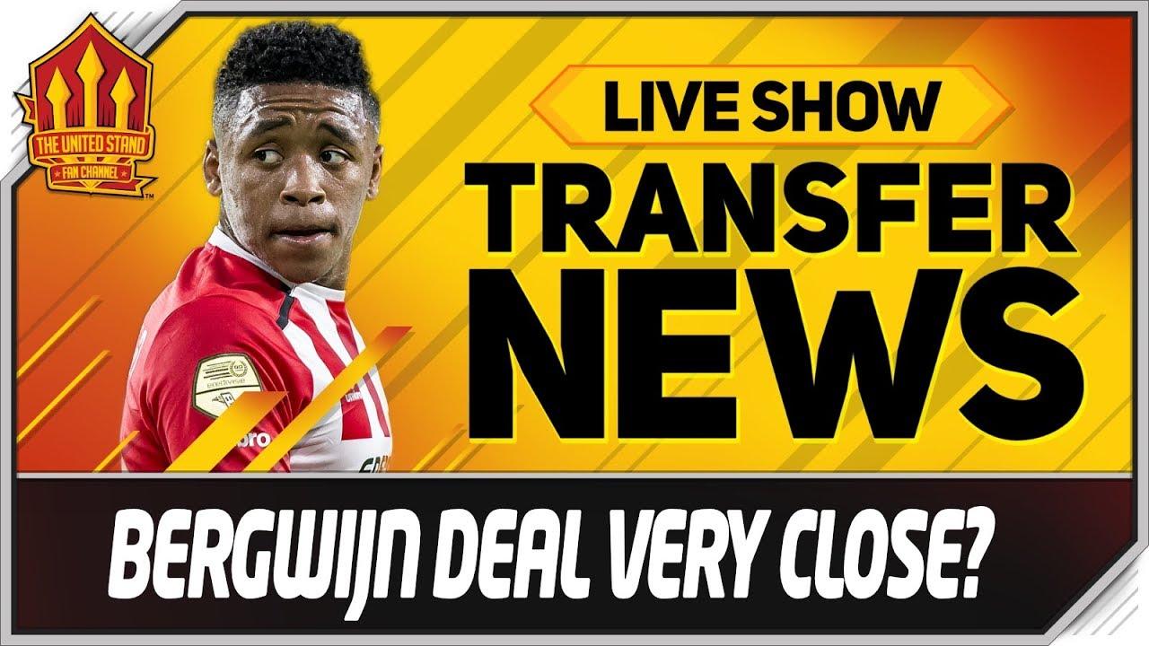 Bergwijn To Man Utd Transfer Close Man Utd Transfer News ...