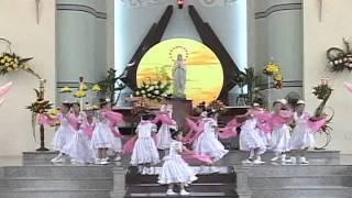 Dâng Hoa Kính Đức Mẹ Tập 3, tiếp bài ngũ bái,bài lụa,bài nến.