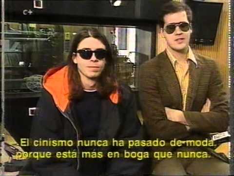 NIRVANA EN ESPAÑA - 40 tv  - madrid febrero 1994