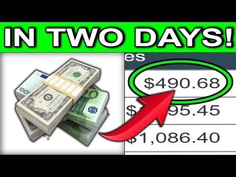 EARN $490.68 IN TWO DAYS! 🔥(NEVER SEEN BEFORE!)🔥 Make Money Online Strategy!