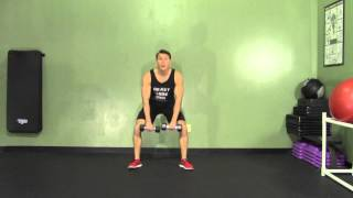 Dumbbell Sumo Deadlift + Upright Row - HASfit Compound Exercises - Total Body Exercise