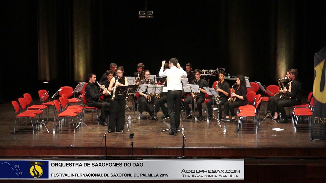 FISPalmela 2019 - Orchestra de Saxofones do DAO - Fantasie by Heitor VIllalobos 2