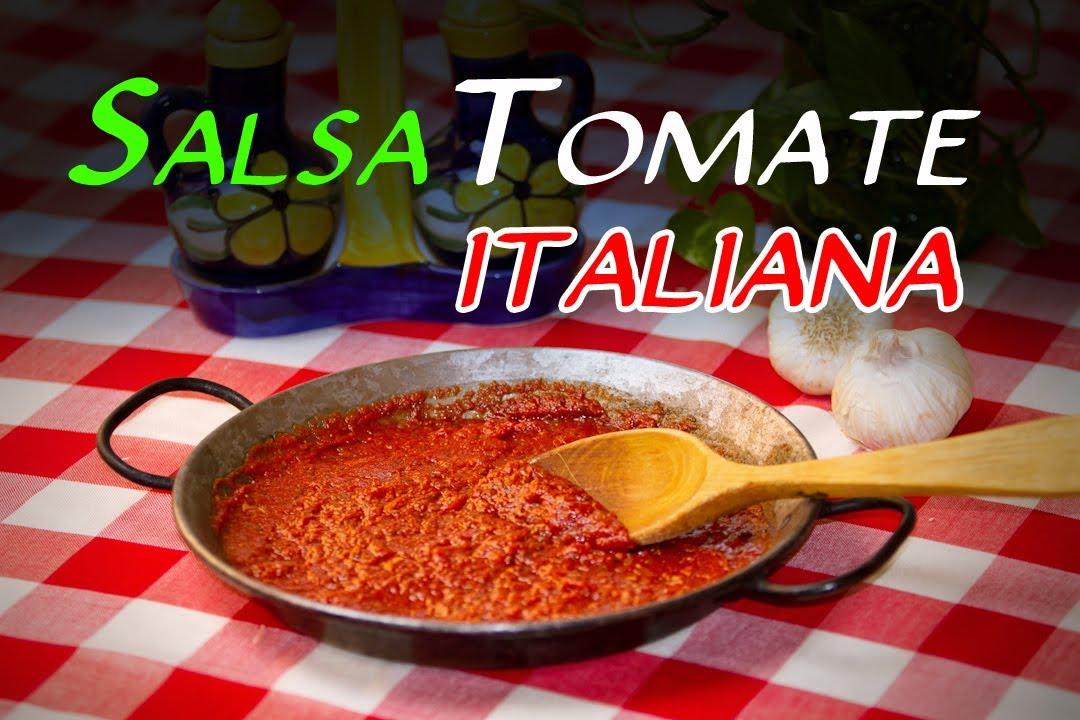 Receta de la autentica salsa de tomate italiana youtube - Como hacer espaguetis al pesto ...