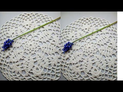 Motif Round  Crochet Simply КРУГЛЫЙ МОТИВ КРЮЧКОМ ПРОСТО