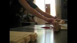 Cutting Tenon Shoulders On The Table Saw
