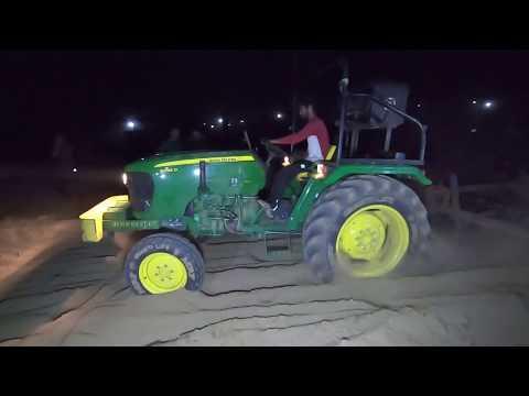 John Deere 5039 D Tractor Performed With 1 Harrow In Meham