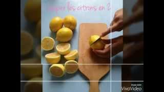 recette de grand-mère: le sorbet citron (avec la sorbetière SEB)