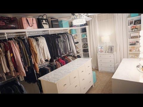 Glam Room Closet & Home Tour 2018 | Francesca Fox thumbnail