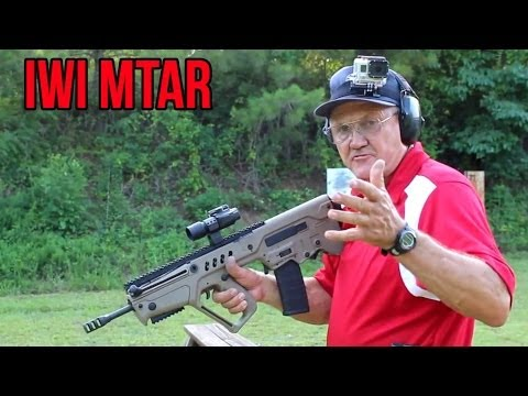 IWI TAVOR - 40 Rounds In 6 Seconds With Jerry Miculek