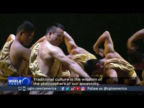 Chinese Meditation Theater showcases ancient wisdom