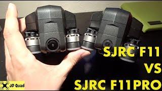 SJRC F11 Pro vs SJRC F11 Video