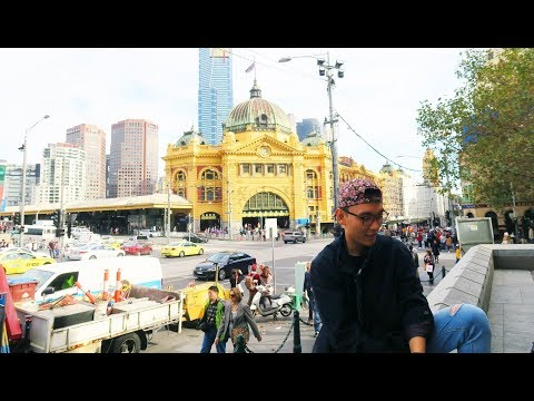 Flinders Street Station MELBOURNE + Sunset At BRIGHTON BEACH Houses & Cambodian Markets SPRINGVALE