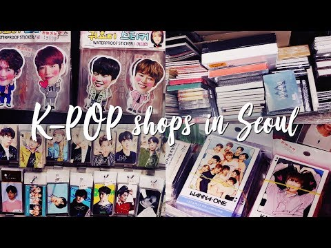 This is HEAVEN for K-POP FANS (K-POP Shop Tour in Seoul)