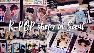 This is HEAVEN for K-POP FANS (K-POP Shop Tour in Seoul)