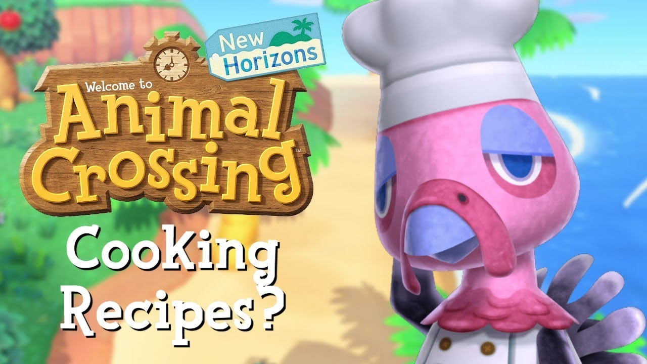 Cooking Recipes In Animal Crossing New Horizons Youtube