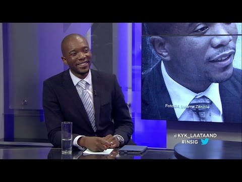 INSIG: Debat - Mmusi Maimane and Dr. Wilmot James, Deel 2