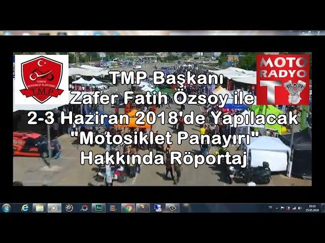 2-3 Haziran 2018 Türkiye Motosiklet Platformu Motosiklet Panayırı