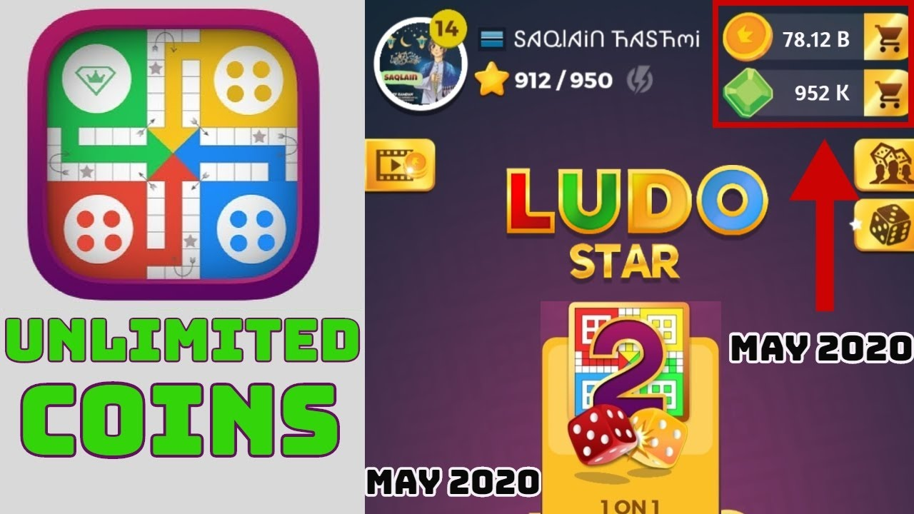 ludo star unlimited coins trick