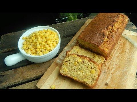 Pan de Maíz Cornbread. Receta fácil y deliciosa