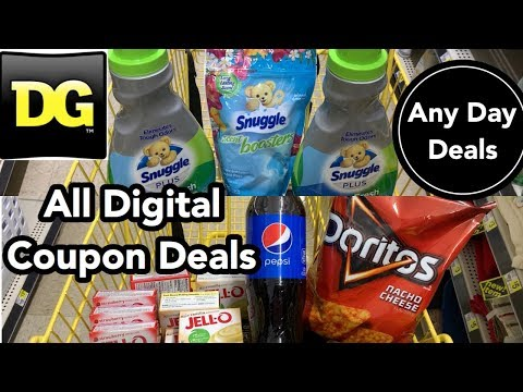 Dollar General | ALL Digital Couponing Deals For Any Day + Snuggle Fail - Abort Mission 🙅🏾♀️