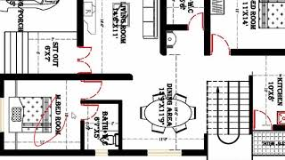 30X60 2BHK WITH CAR PARKING HOUSE PLAN